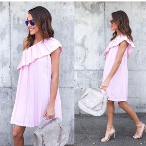 Fun and Flirty Pink Dress
